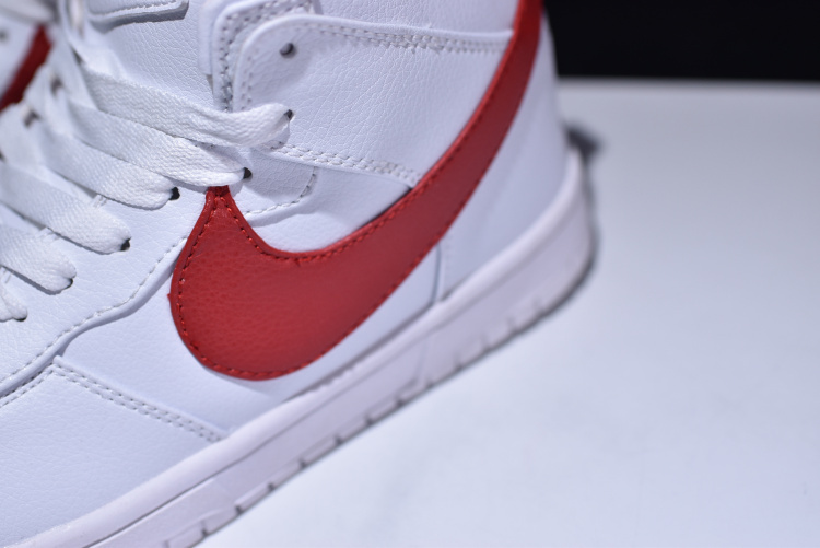 on sale 0bf6a 3b110 ... Hot Sale Nike Air Force 1 Dunk Lux Chukka RT White Red 910088 100 Men s  High ...
