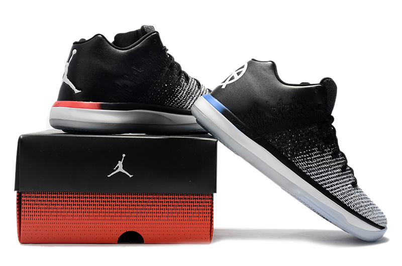54f9c6604c9 ... sale new style nike air jordan 31 xxxi low white black red mens  basketball shoes f3dde
