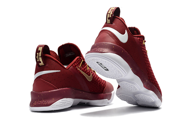 2a07abd1fcf ... best advanced design nike lebron 14 xiv wine red white mens basketball  shoes 0904a 74263