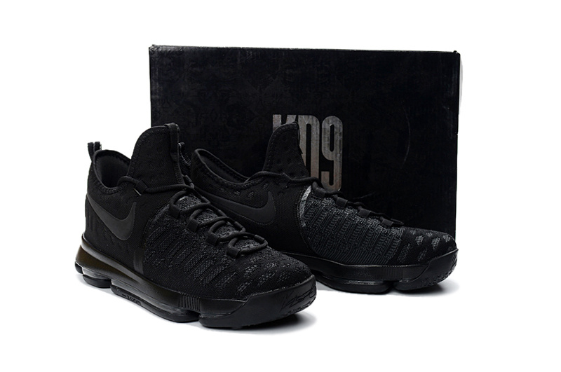 90c87a6dc851 Perfect Nike Zoom KD 9 Black Men s Basketball Shoes - ShoesGain.com