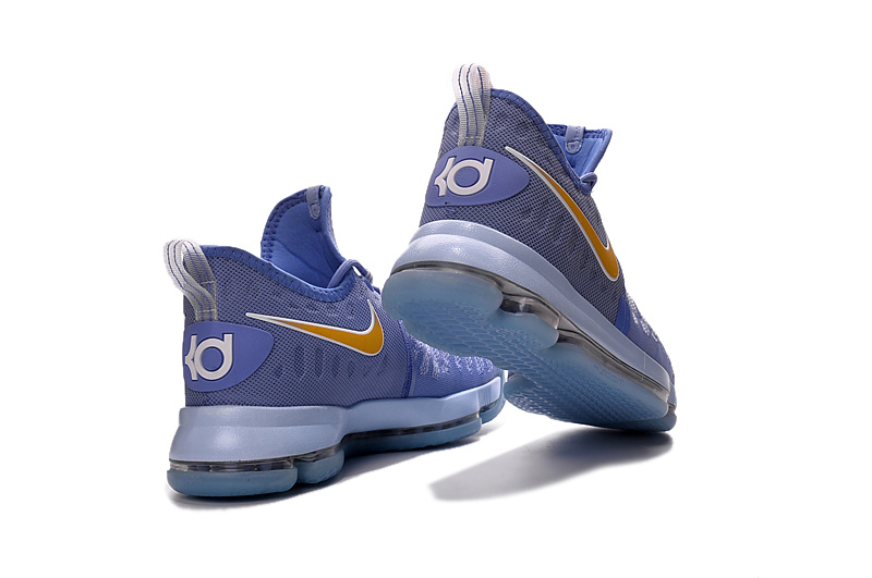 buy popular 7f8bb 58cad ... Attractive Nike Zoom KD 9 Purple Gold Men s Basketball Shoes
