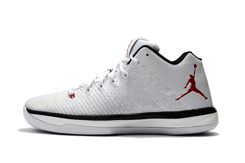 sale retailer 75728 9320b new zealand air jordan 31 low white red ed5bb db1e7