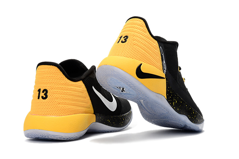 7a17575dad361 ... New Style Nike Paul George PG 2 Black Yellow Men's Basketball Shoes