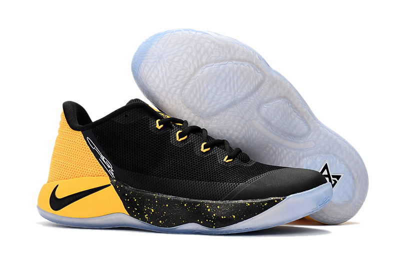 ... New Style Nike Paul George PG 2 Black Yellow Men s Basketball Shoes ... 074189ce6