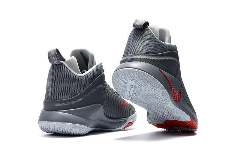 promo code cd1b8 88290 ... Newest Nike Lebron 13 Grey Red Men s Basketball Shoes ...