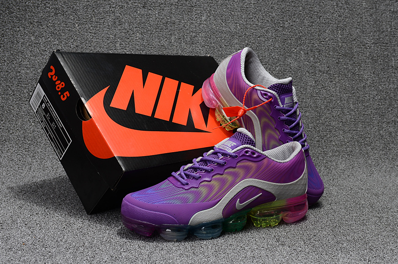 c3950506de ... High Cost Performance Nike Air Max 2018. 5 Purple Grey Women's Running  Shoes