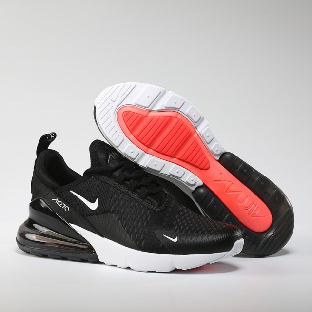 2746f6f22 ... Hot Sale Nike Air Max 270 Black White AH6789 002 Men's Sport Running  Shoes