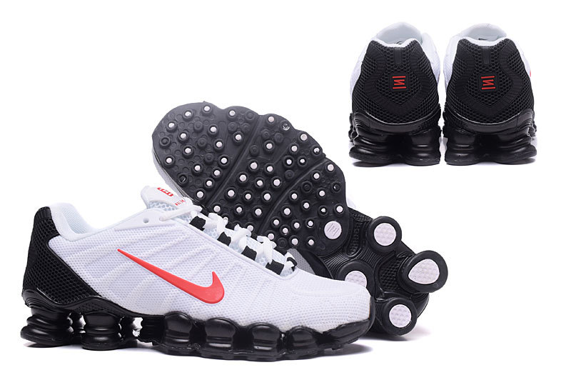 competitive price e499a b1ed9 ... Hot Selling Nike Shox White Red Black Shox NZ Men s Sport Running Shoes