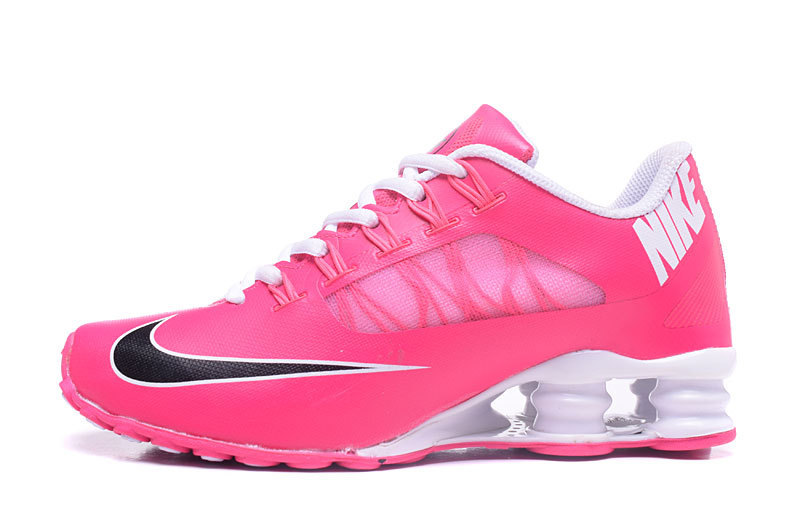 95d99a776b8197 Portable Nike Shox Pink Black White Shox Women s Running Sneakers ...