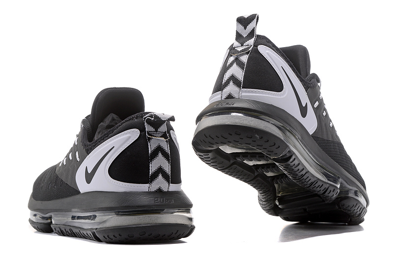 c8c1ead12a9 ... Reliable Quality Nike Air Max 2018 Black White Men s Running Shoes ...