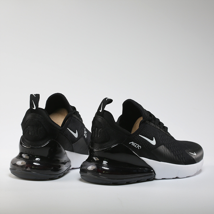 Hot Sale Nike Air Max 270 Black White AH6789 002 Menu0027s Sport ...