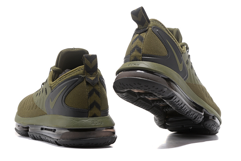 ... Fashionable Nike Air Max 2018 Army Green Men's Running Shoes ...