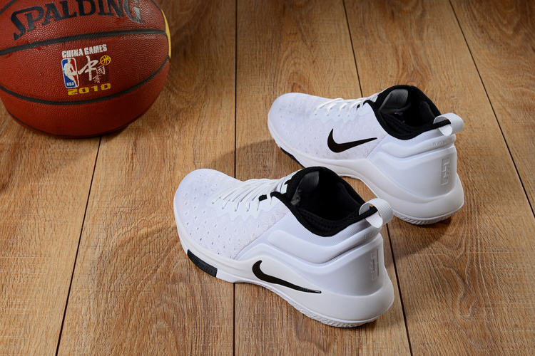 edb20af5651 ... High-end Product Nike LeBron Witness 2 Flyknit White Black Men s  Basketball Shoes ...
