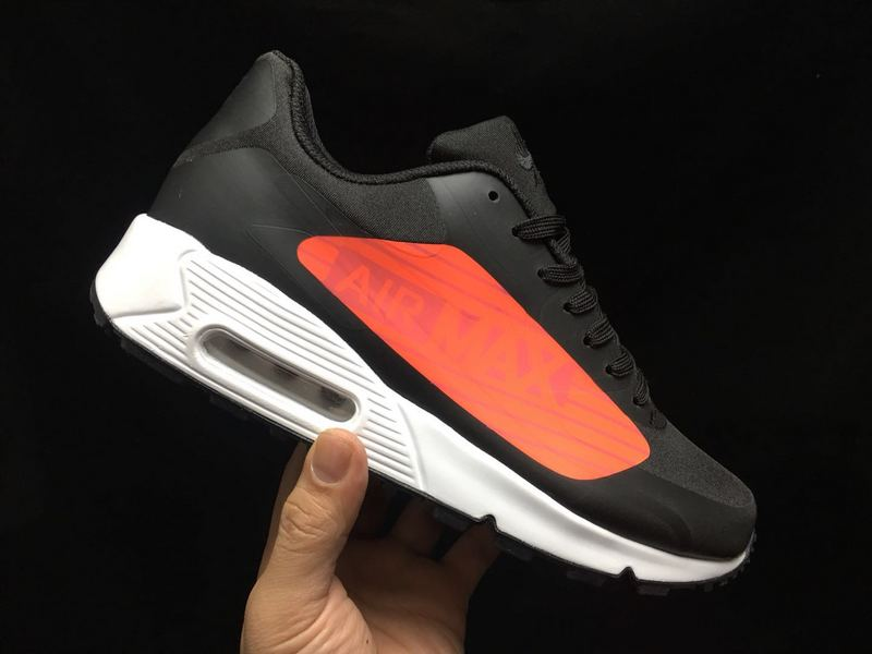 d3a63de5648fdf Fashionable Nike Air Max 90 NS Gpx Black Orange AJ7182 003 Men s ...
