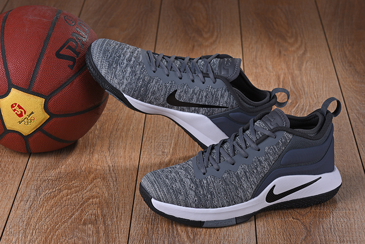 c91ea84ef6f ... Contracted Nike LeBron Witness 2 Flyknit Grey White Men s Basketball  Shoe ...