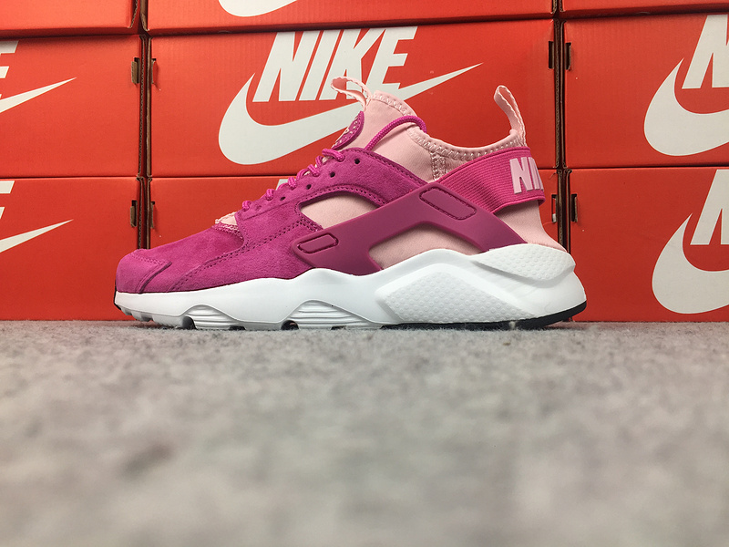 Cheap Nike WMNS Air Huarache Ultra ID 829669-600 Pink Purple White