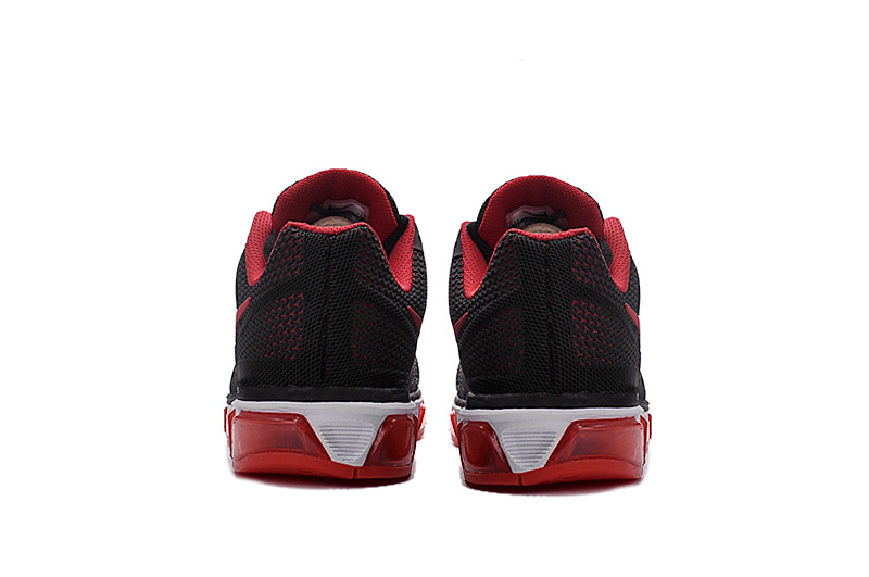 competitive price 6bb58 8a572 ... Hot Sale Nike Air Max Tailwind 8 Black Red 805941 007 Men s Running  Shoes ...