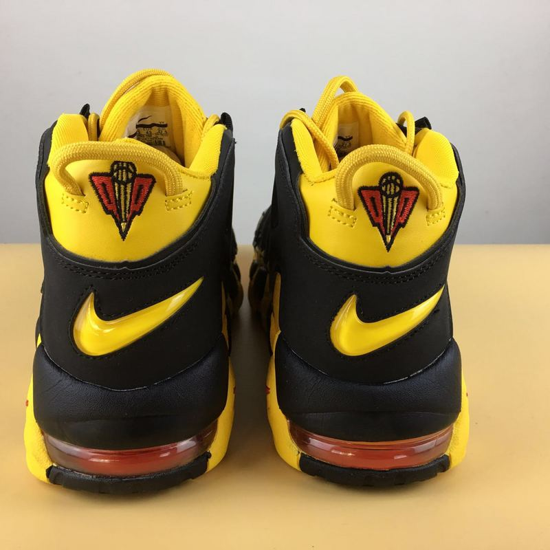 ... Superior Nike Air More Uptempo Yellow Black Red 414962 700 Men s Sport  Shoes ... e7e36e1cd