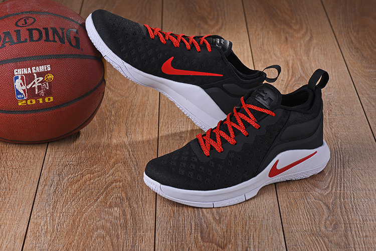 2759dd0a4d0c ... Best Sell Nike LeBron Witness 2 Flyknit Black Red White Men s  Basketball Shoes