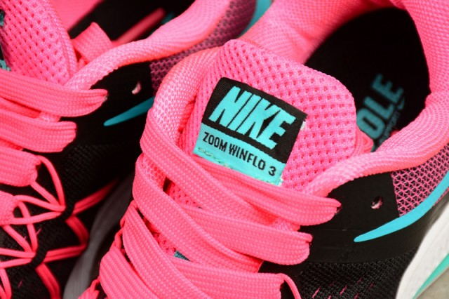 6ab2f3cd6d03 ... Impeccable Nike Zoom Winflo 3 Pink Black Blue 831562 004 Women s  Running Shoes ...
