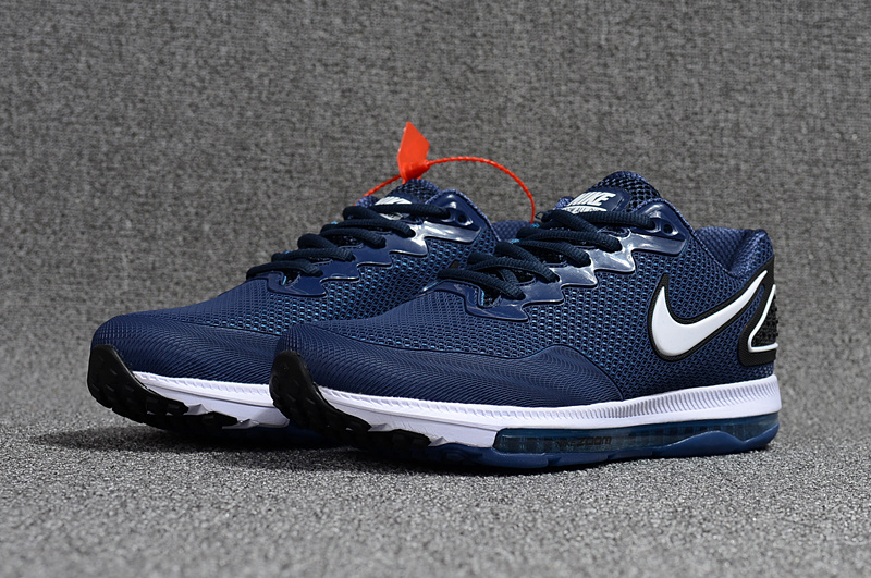 Beautiful Design Nike Zoom All Out Low 2 Blue Black White Men s Running  Shoes ... 36e28e307