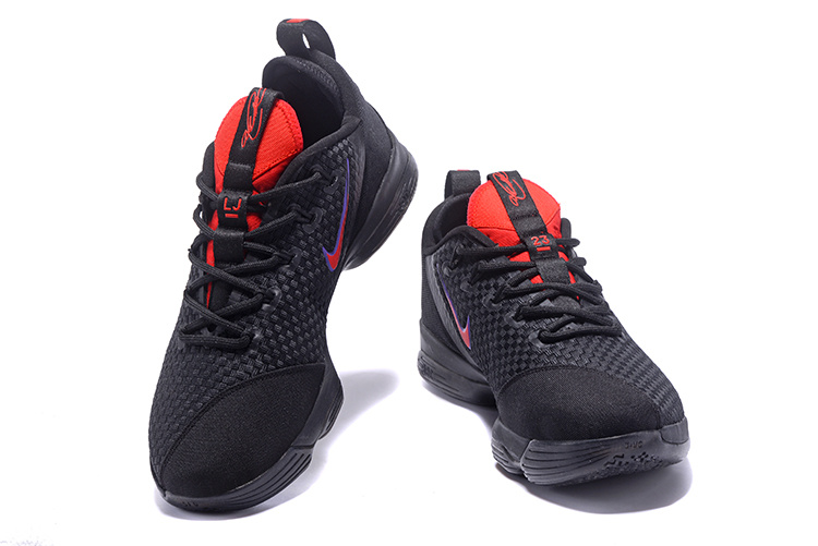 24a550b0f03f High Quality Nike Lebron XIV Low EP Black Red Men s Basketball Shoes ...