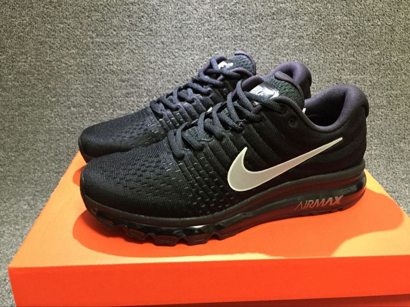 ... Have Personality Nike Air Max 2017 Black Silver 849559 001 Unisex Sport  Running Shoes