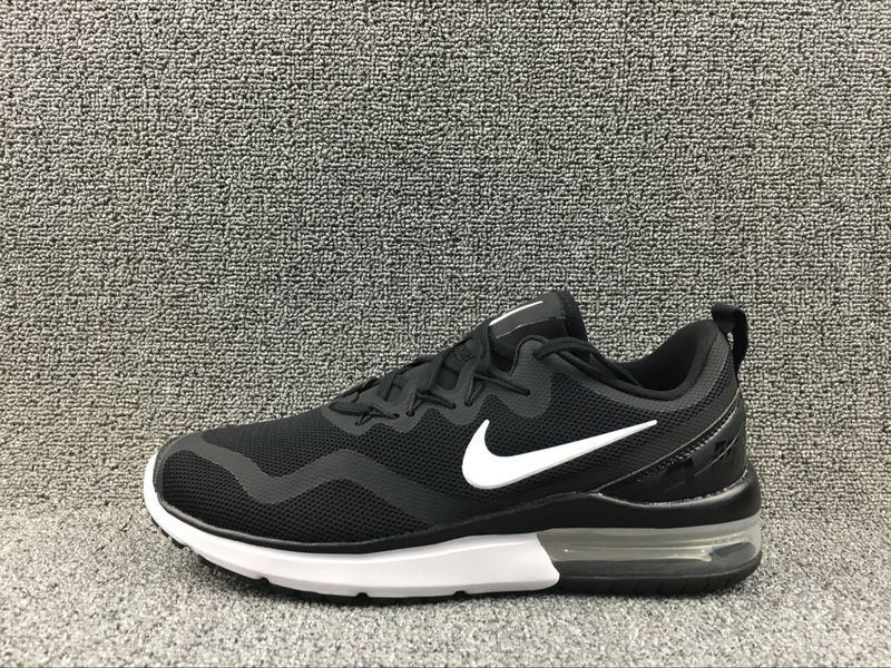 a30be8364c0 Exquisite Nike Air Max Fury Black White AA5739 001 Unisex Running ...