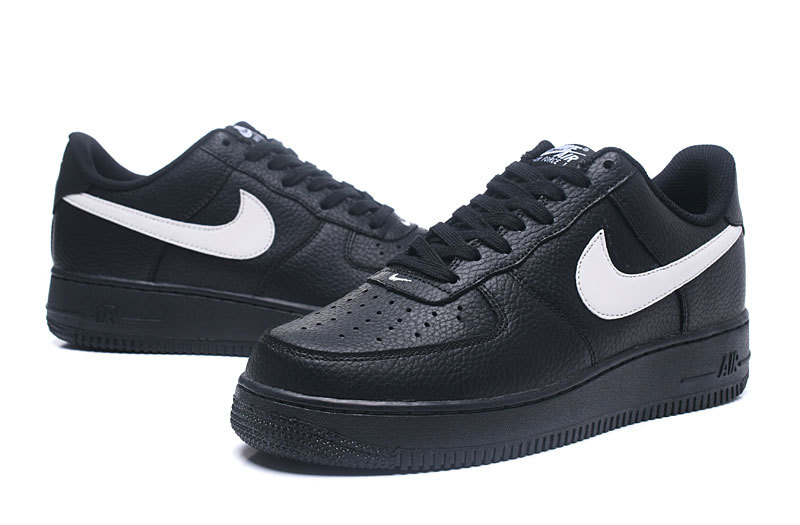 los angeles 2f884 44439 ... Comfortable Nike Air Force 1 07 Black White AA4083 001 Mens Casual  Shoes ...