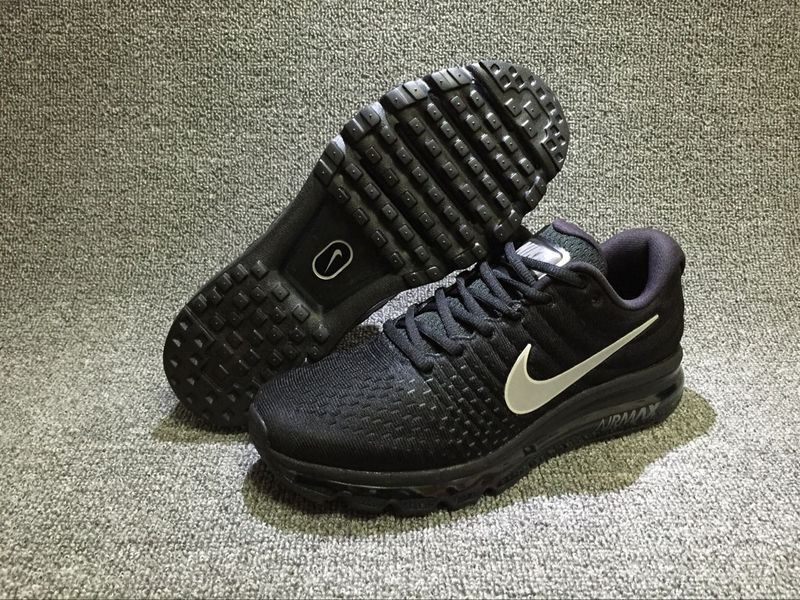 ... Have Personality Nike Air Max 2017 Black Silver 849559 001 Unisex Sport  Running Shoes ...