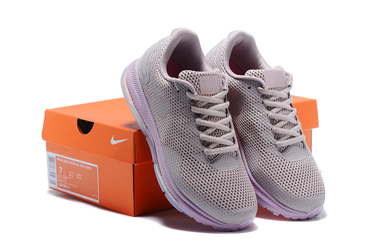 0568301ee1d6 ... get durable nike zoom all out low 2 grey purple aj0035 511 womens sport  shoes 4ba80