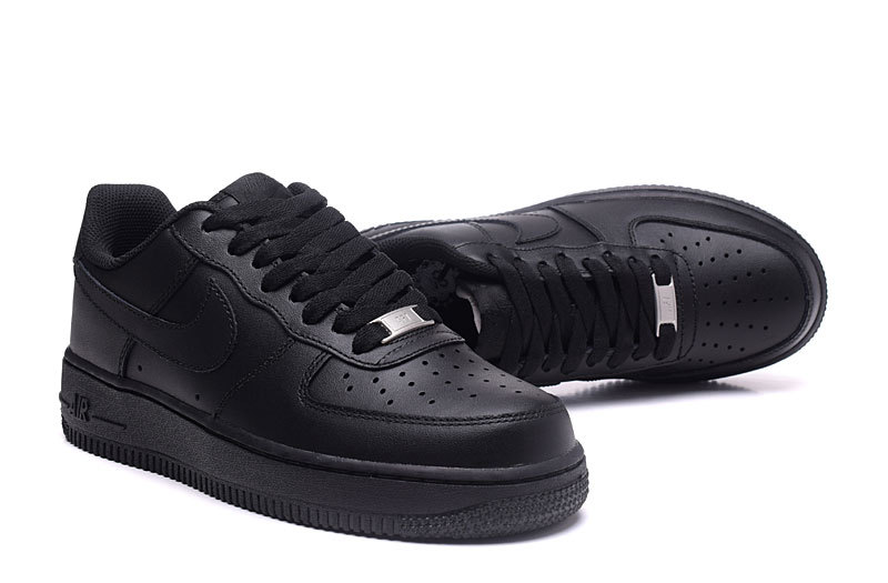 660e14e63b235 ... Dependable Performance Nike Air Force 1 07 Black 315122 001 Unisex  Casual Shoes ...