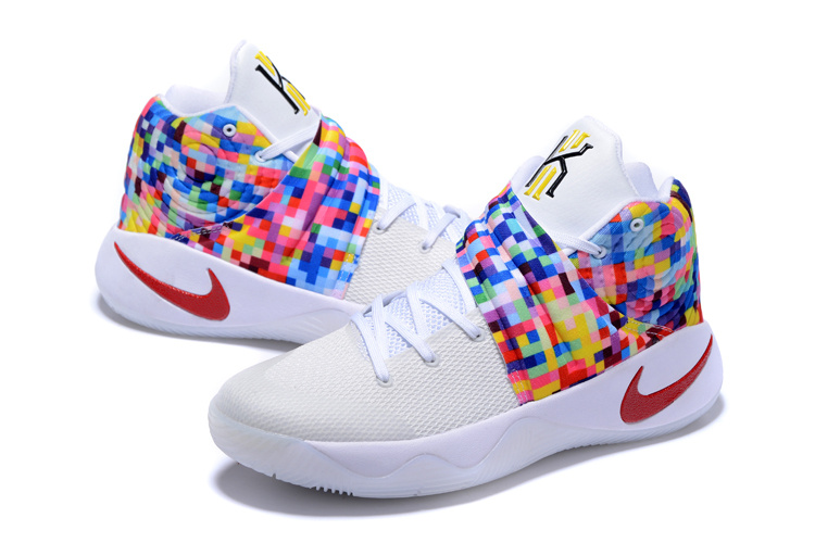 33d0134b15c ... Of Quality Nike Kyrie 2 Xmas White Red Colorful Unisex Basketball Shoes  ...