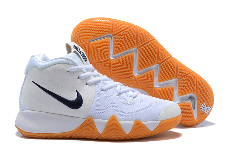 125aac0eca1 ... coupon code for beautiful design nike kyrie 4 ep white blue mens  basketball shoes 9b5e8 2560b