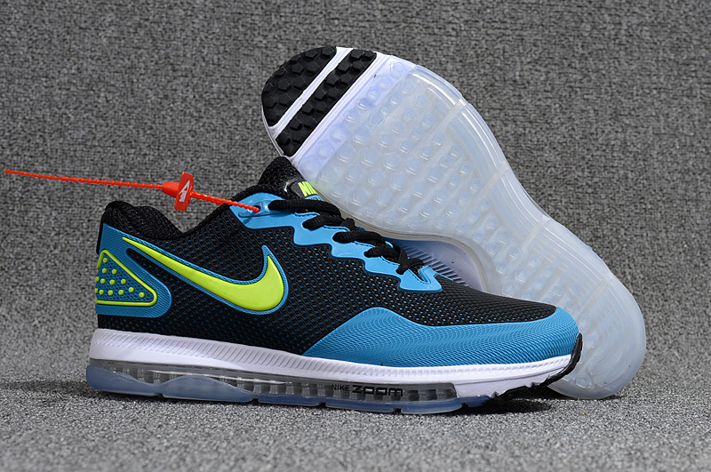 ... Dependable Performance Nike Zoom All Out Low 2 Blue Black Green Men's  Running Shoes ...