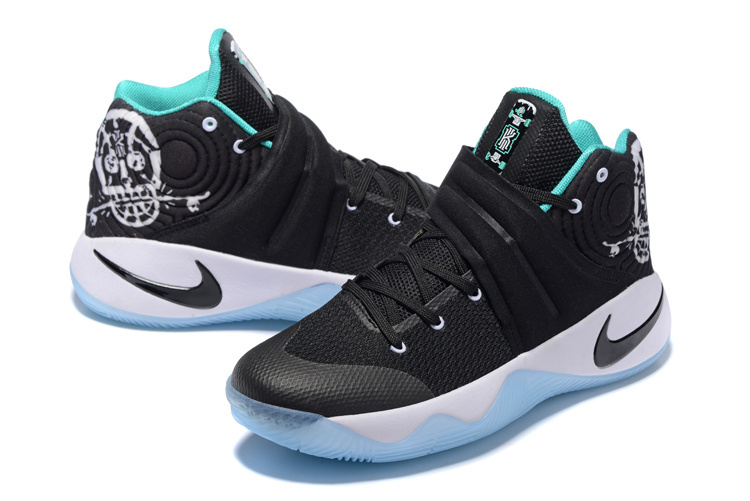 info for 5d579 aa089 ... High Quality Nike Kyrie 2 Xmas Black White Mint Green Men s Basketball  Shoes ...