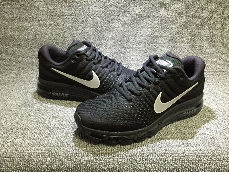 Have Personality Nike Air Max 2017 Black Silver 849559 001 Unisex Sport  Running Shoes ...