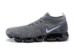 Impeccable Nike Air VaporMax Flyknit 2018 V2 TPU Grey White Men s Running  Shoes df99b0ccf
