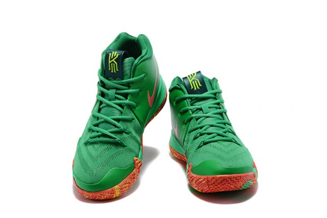 dfbd198bc76 Skillful Manufacture Nike Kyrie 4 EP Green Red Men s Basketball Shoes ...