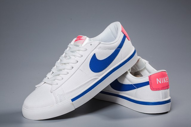 outlet store 79695 27146 ... Top Quality Nike Blazer Low White Blue Pink Unisex Casual Shoes ...
