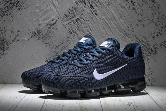 fb6a5fc11a871 Reliable Quality Nike Air Vapormax Flyknit Blue White 849558 600 Men s  Running Shoes ...