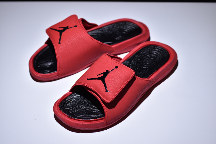 b408661da Zero Defect Nike Air Jordan Hydro 6 Sandals Red Black 881474 600 ...