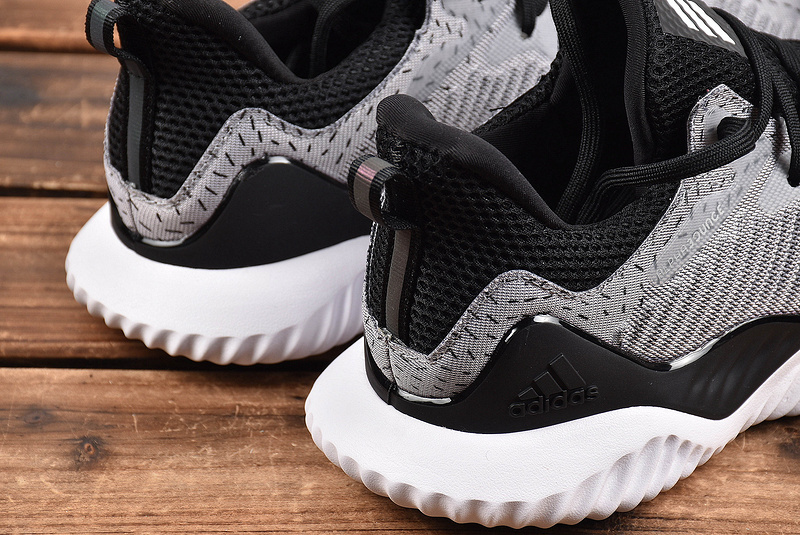 7280d847e ... Sophisticated Technology Adidas AlphaBounce Grey Black DB1126 Men s  Running Shoes ...