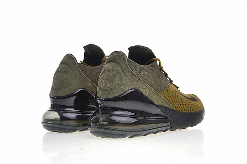online retailer 81801 5eb85 ... Good Production Line Nike Air Max 270 Flyknit Dark Green AO1023 003  Womens Sport Running Shoes ...