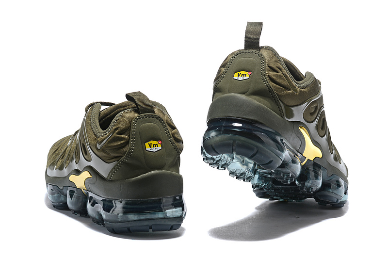 70430078a4e ... Durable Nike Air VaporMax Plus Army Green Men s Running Shoes ...