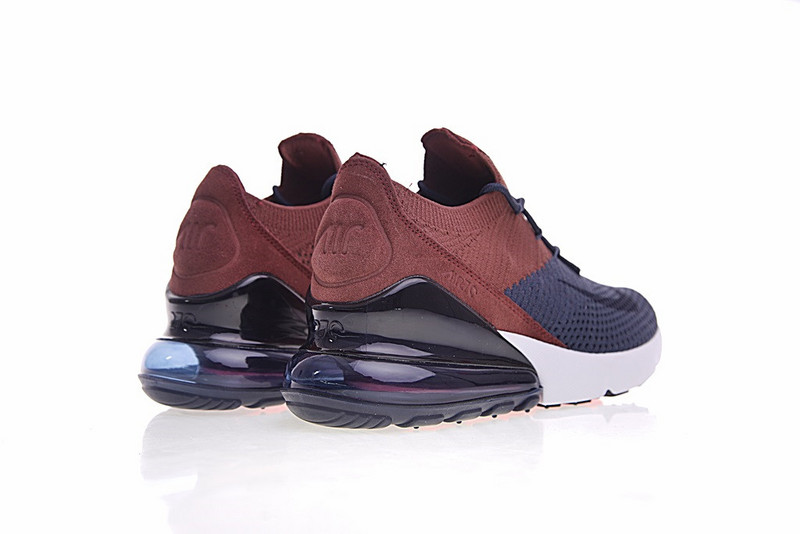 ... Free Shipping Nike Air Max 270 Flyknit Brown Blue AO1023 004 Women s  Sport Running Shoes Sneakers ... a14dcc904a