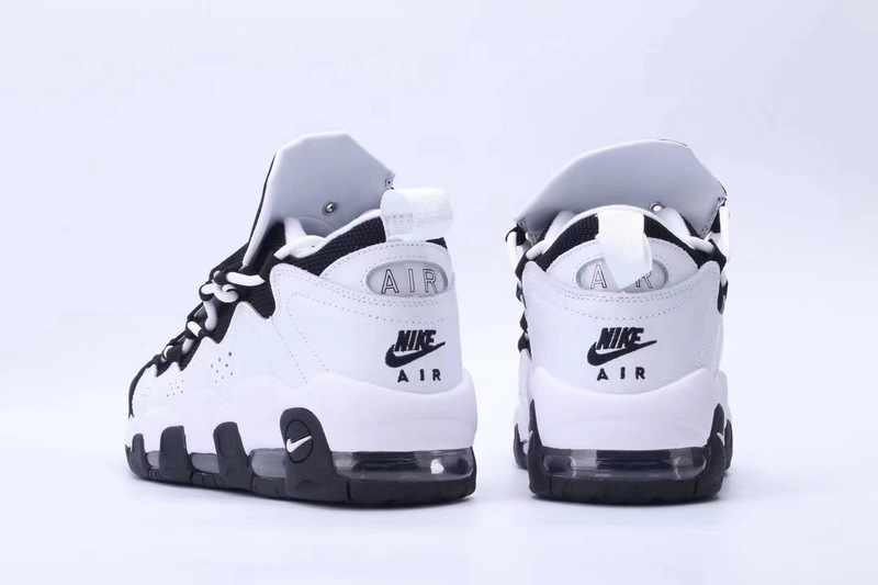 on sale dfc82 9a151 get nike air more uptempo bamboo the sole supplier fa476 af5fa shop  comfortable nike air max more uptempo white black unisex basketball shoes  2c251 45621