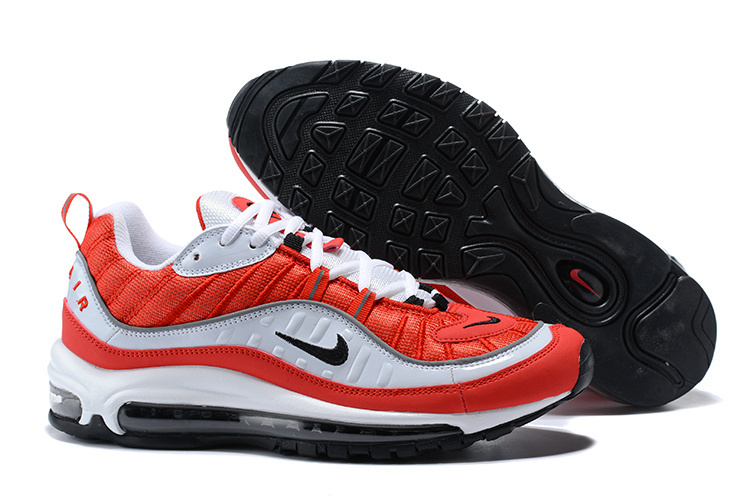 ... Superior Quality Nike Air Max 98 Supreme Red Black White Men s Running  Shoes ... 46faae726