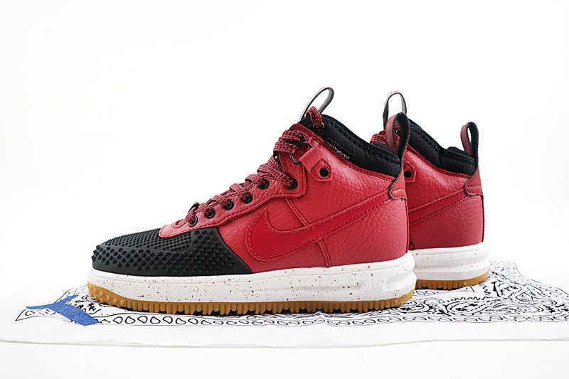 Reliable Quality Nike Lunar Force 1 Duckboot Wine Red Black 805899 003 Men's  Casual Shoes ...