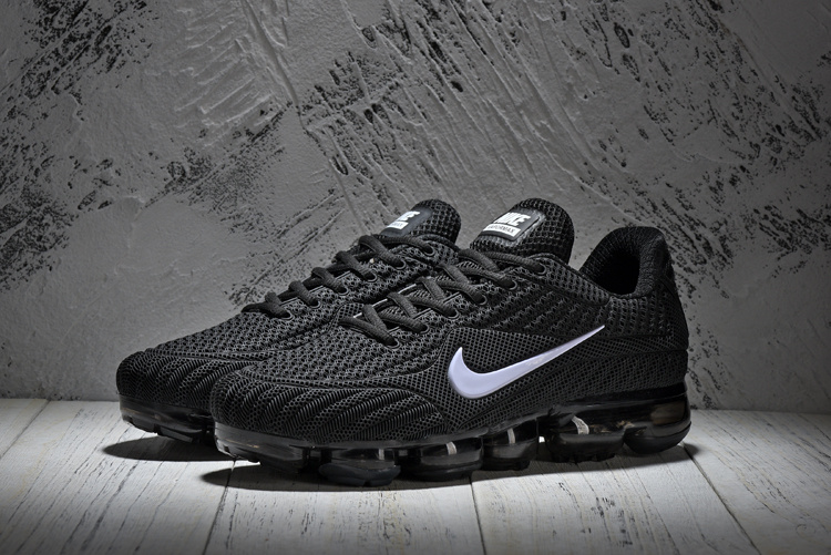65767835040ab High-end Product Nike Air Vapormax Flyknit Black White 849558 001 Unisex Running  Shoes ...